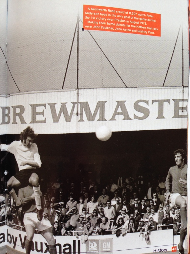 42 years Ago before we were famous ...and a cup of Bovril